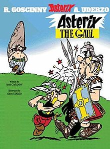 Asterix the Gaul Author: Renné Goscinny Illustrator: Albert Uderzo Translator: Anthea Bell and Derek Hockridge Publisher: Orion In a tiny corner of Brittany, one small village of indomitable Gauls hold out against the almighty, all-conquering Romans.