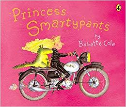 Công chúa Smartypants - Tác giả: Babette Cole Nhà xuất bản: Penguin. Công chúa Smartypants không muốn kết hôn. Cô thích được làm một cô gái độc thân. Nhưng tất cả các hoàng tử muốn cô trở thành vợ của họ.
