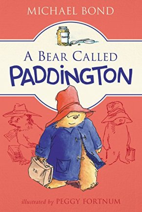 A Bear Called Paddington Author: Michael Bond Illustrator: Peggy Fortnum Publisher: HarperCollins Children's Books Paddington, the brown bear from darkest Peru, is found by the Brown family on Paddington Station with his hat, duffel coat and marmalade sandwiches.
