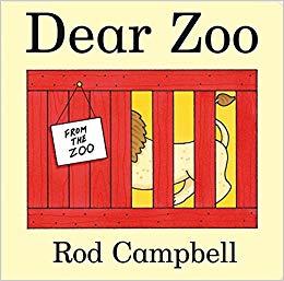 Dear Zoo - Tác giả: Rod Campbell Nhà xuất bản: Campbell Books Câu chuyện hấp dẫn này, ở dạng thang máy, dạng bảng-book đã được yêu thích với trẻ chập chững biết đi kể từ khi nó được xuất bản lần đầu tiên vào năm 1982.