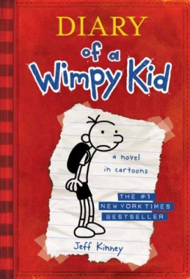 Diary of a Wimpy Kid Author: Jeff Kinney Publisher: Puffin Greg Heffley is a normal American kid, albeit one with a habit of getting into (and out of) trouble.