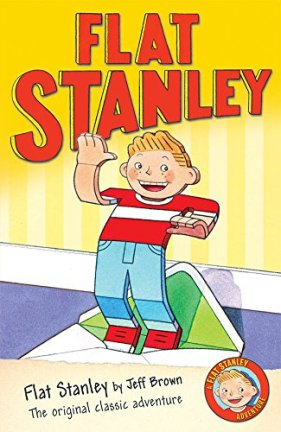 Flat Stanley Author: Jeff Brown Illustrator: Scott Nash Publisher: Egmont Stanley Lambchop wakes up one morning to find he is only half an inch thick