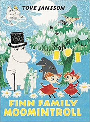 Finn Family Moomintroll Author: Tove Jansson Translator: Elizabeth Portch Publisher: Puffin Books Moomintroll is cheerful and chubby and lives in the magical Moominvalley with his mother, Moominmamma, his father, Moominpappa and all of their friends.