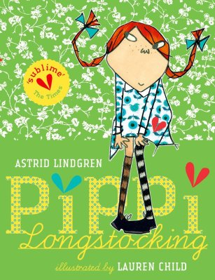 Pippi Longstocking Author: Astrid Lindgren Translator: Tiina Nunnally Illustrator: Lauren Child Publisher: Oxford University Press Follow Pippi Longstocking on her amazing adventures as she moves into Villa Villekulla with a horse, a monkey, and a big suitcase of gold coins.