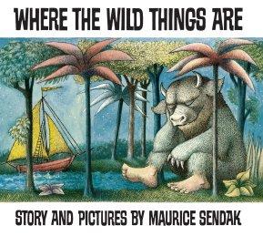Nơi những điều hoang dã là tác giả: Maurice Sendak Nhà xuất bản: Red Fox Xuất bản lần đầu vào năm 1963, cuốn sách ảnh cổ điển này sẽ cuốn hút cả trẻ em và người lớn, gợi lên sự khốc liệt của thời thơ ấu