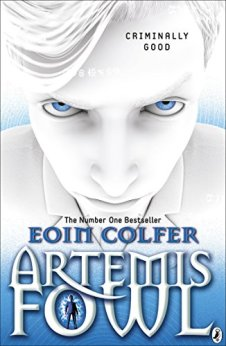 Artemis Fowl Author: Eoin Colfer Publisher: Penguin Twelve-year-old criminal mastermind Artemis Fowl hatches an ingenious plot to steal all the gold in fairy land.