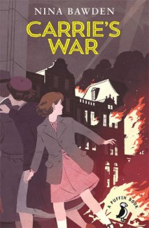Carrie's War Author: Nina Bawden Publisher: Puffin Inspired by Nina Bawden's own experiences of living as an evacuee in a Welsh mining valley as a child, Carrie's War is now considered a modern classic. Funny, sad and thought-provoking