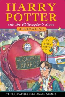Harry Potter and the Philosopher's Stone Author: J K Rowling Publisher: Bloomsbury Children's Books After the misery of life with his ghastly aunt and uncle, Harry Potter is delighted to have the chance to embark on an exciting new life at the Hogwart's School of Wizardry and Witchcraft.