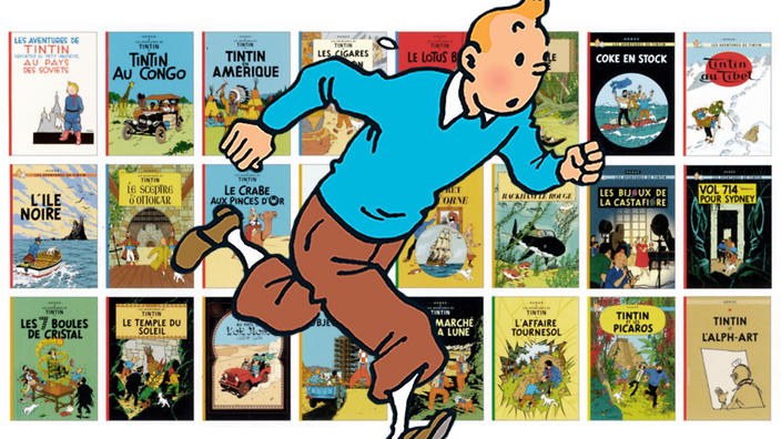 The Adventures of Tintin Author: Hergé Translator: Michael Turner and Leslie Lonsdale-Cooper Publisher: Egmont Resourceful junior reporter Tintin embarks on a series of exciting international adventures, accompanied by his faithful dog Snowy, in this favourite series.